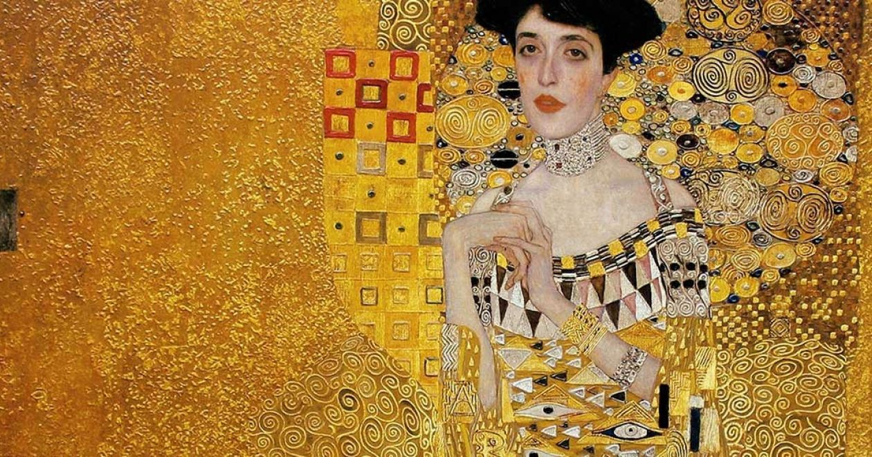 Gustave Klimt Comes to Brilliant Life