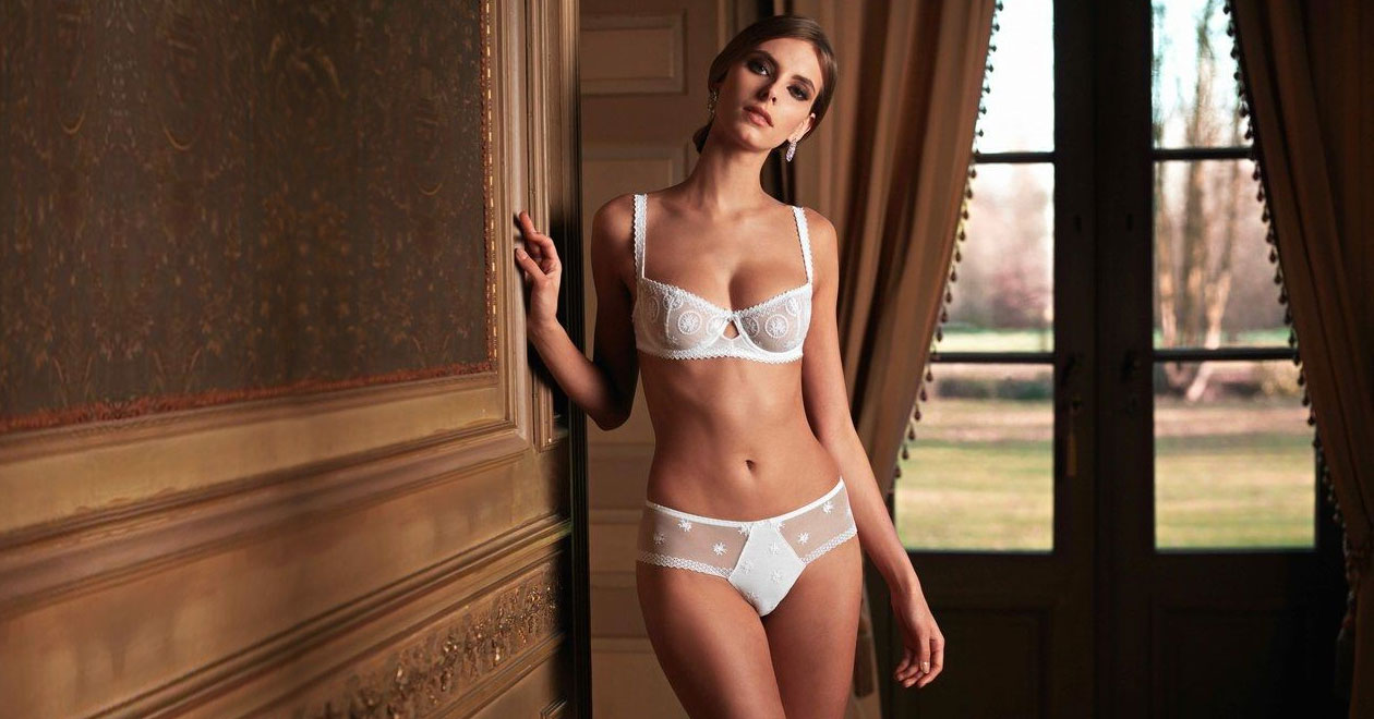 Chantilly by Louisa Bracq Lingerie Francaise